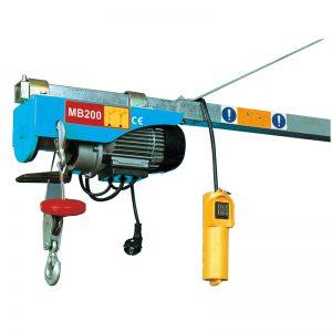 رافعة كهربائية صغيرة MB200 ، رافعة رافعة كهربائية